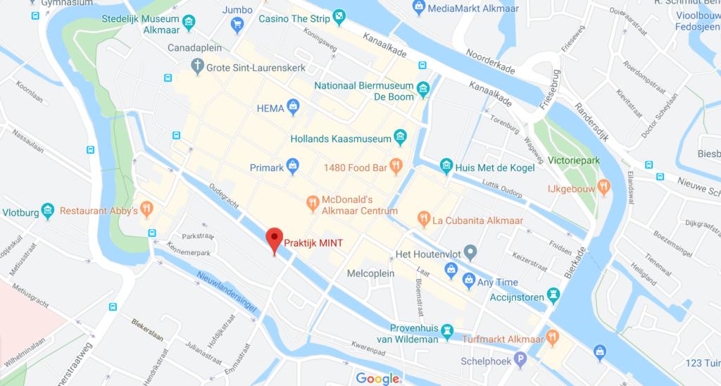 Praktijk MINT, Oudegracht 237, Alkmaar